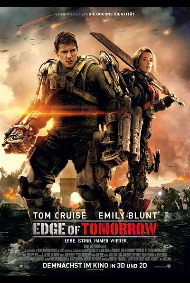 Edge of Tomorrow - Filmplakat