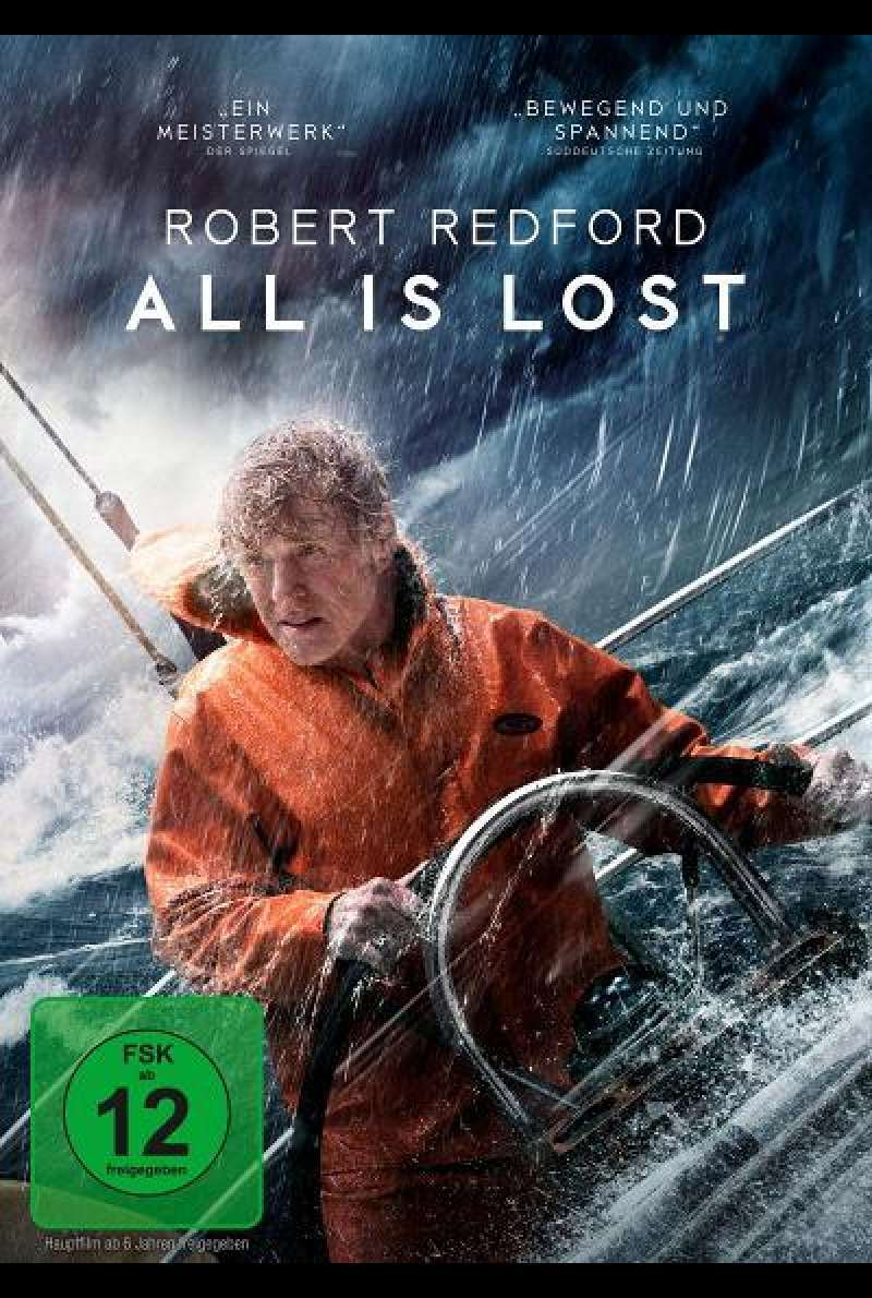 All Is Lost - DVD-Cover