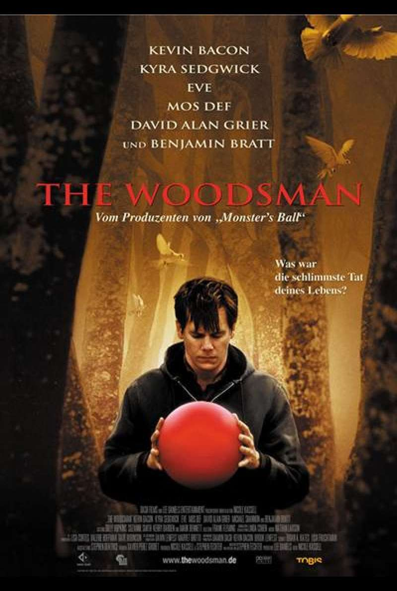 The Woodsman - Der Dämon in mir  - Filmplakat