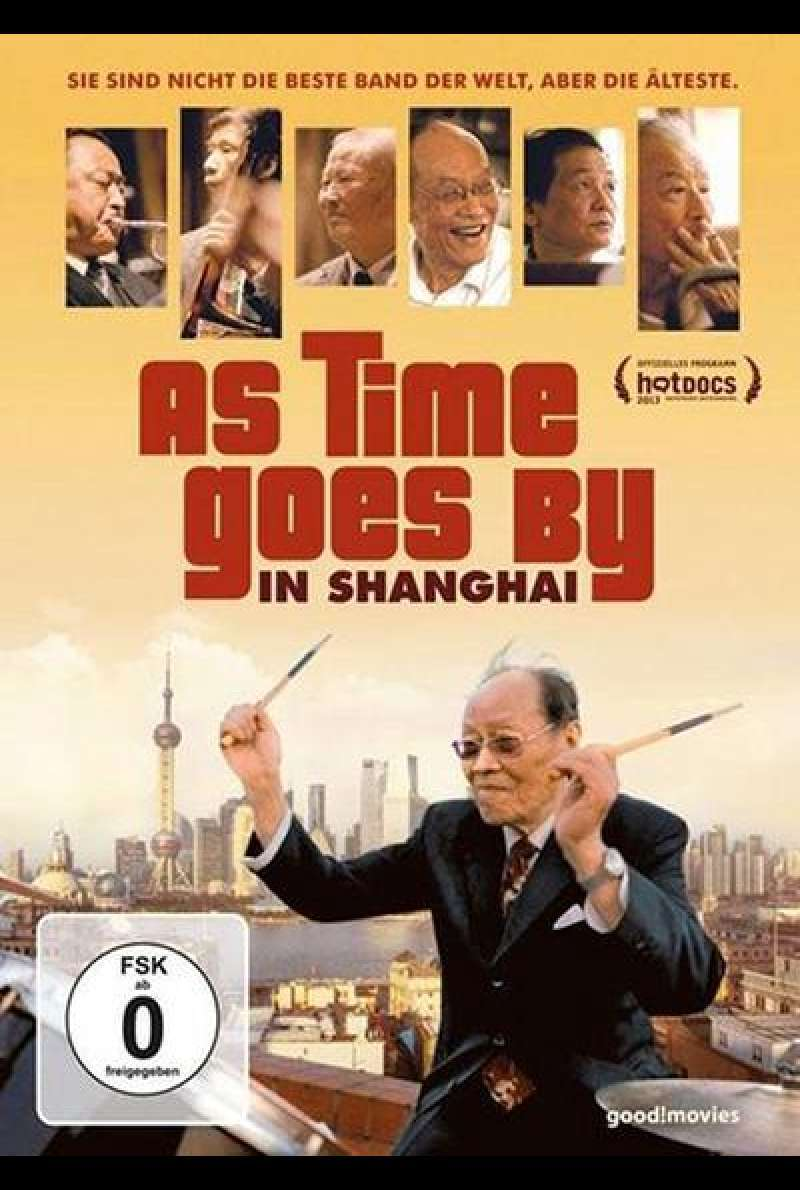 As Time Goes By in Shanghai - DVD-Cover