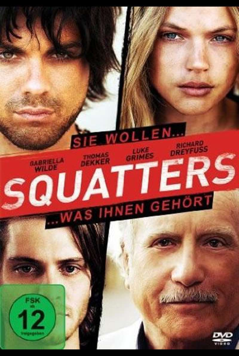 Squatters - DVD-Cover