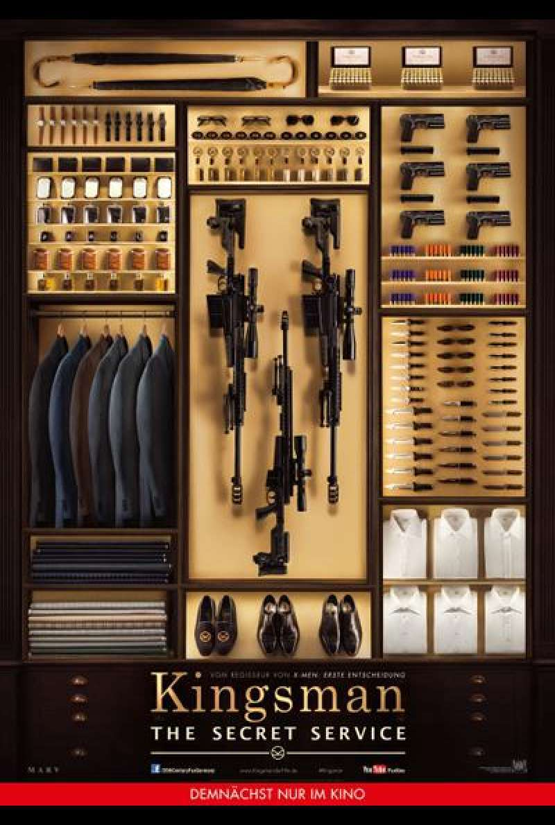 Kingsman: The Secret Service - Filmplakat