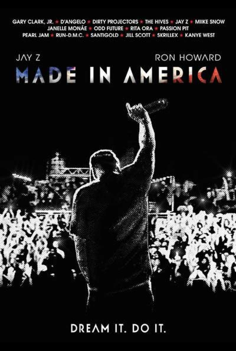 Made In America von Ron Howard - Filmplakat (US)