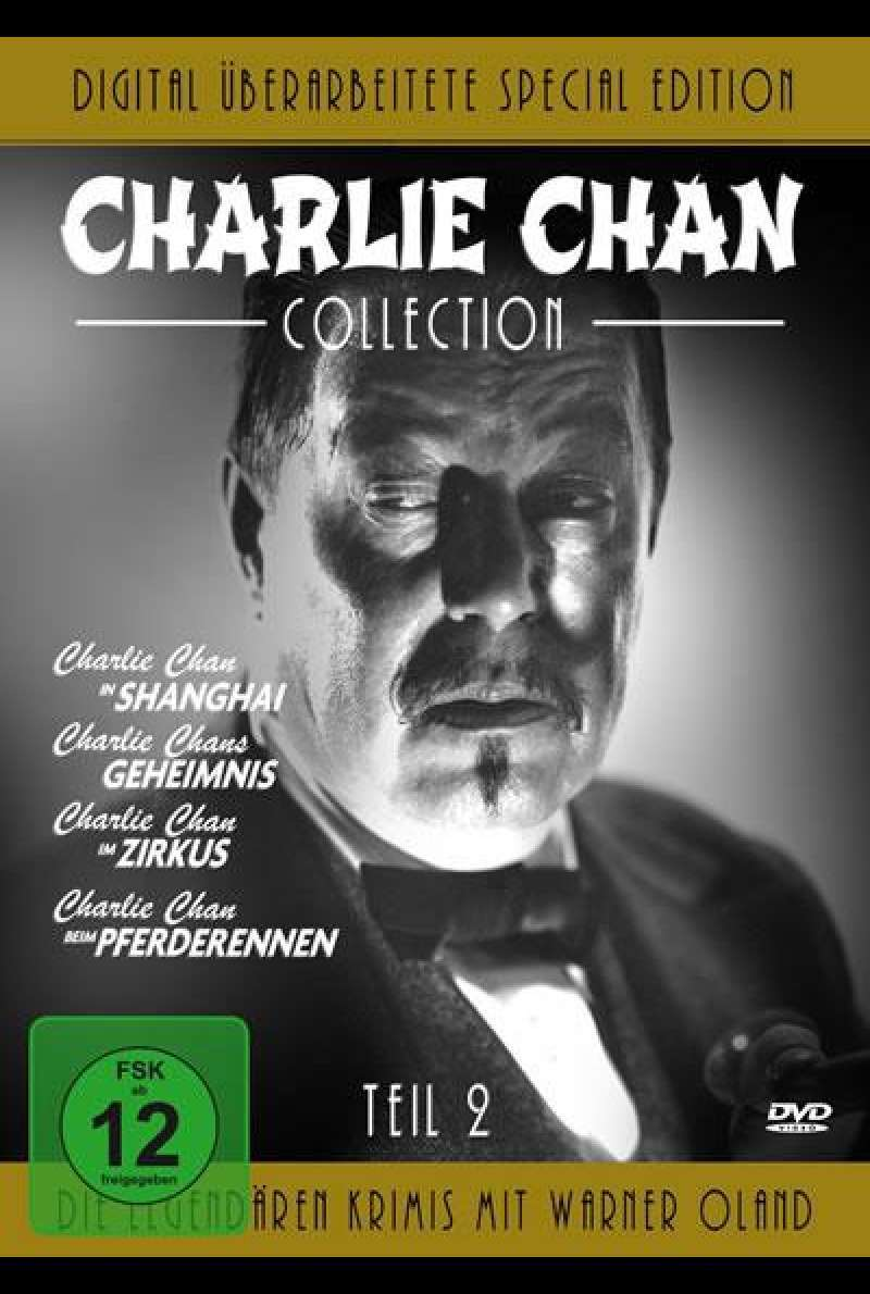 Charlie Chan Collection - Teil 2 - DVD-Cover