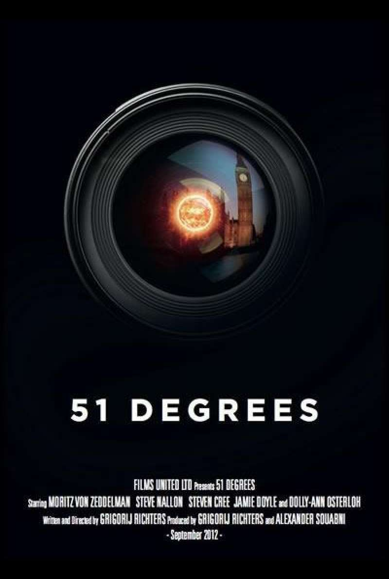 51 Degrees von Grigorij Richters - Filmplakat (UK)