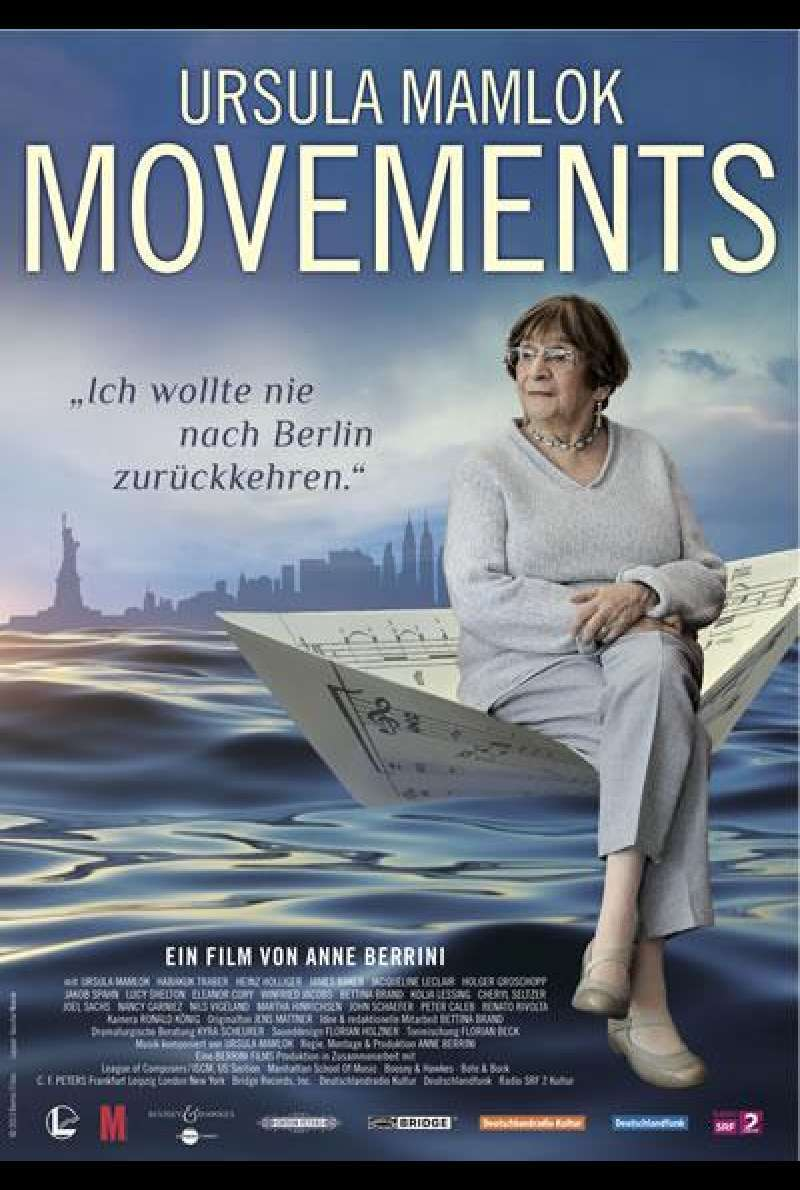 Ursula Mamlok Movements - Filmplakat