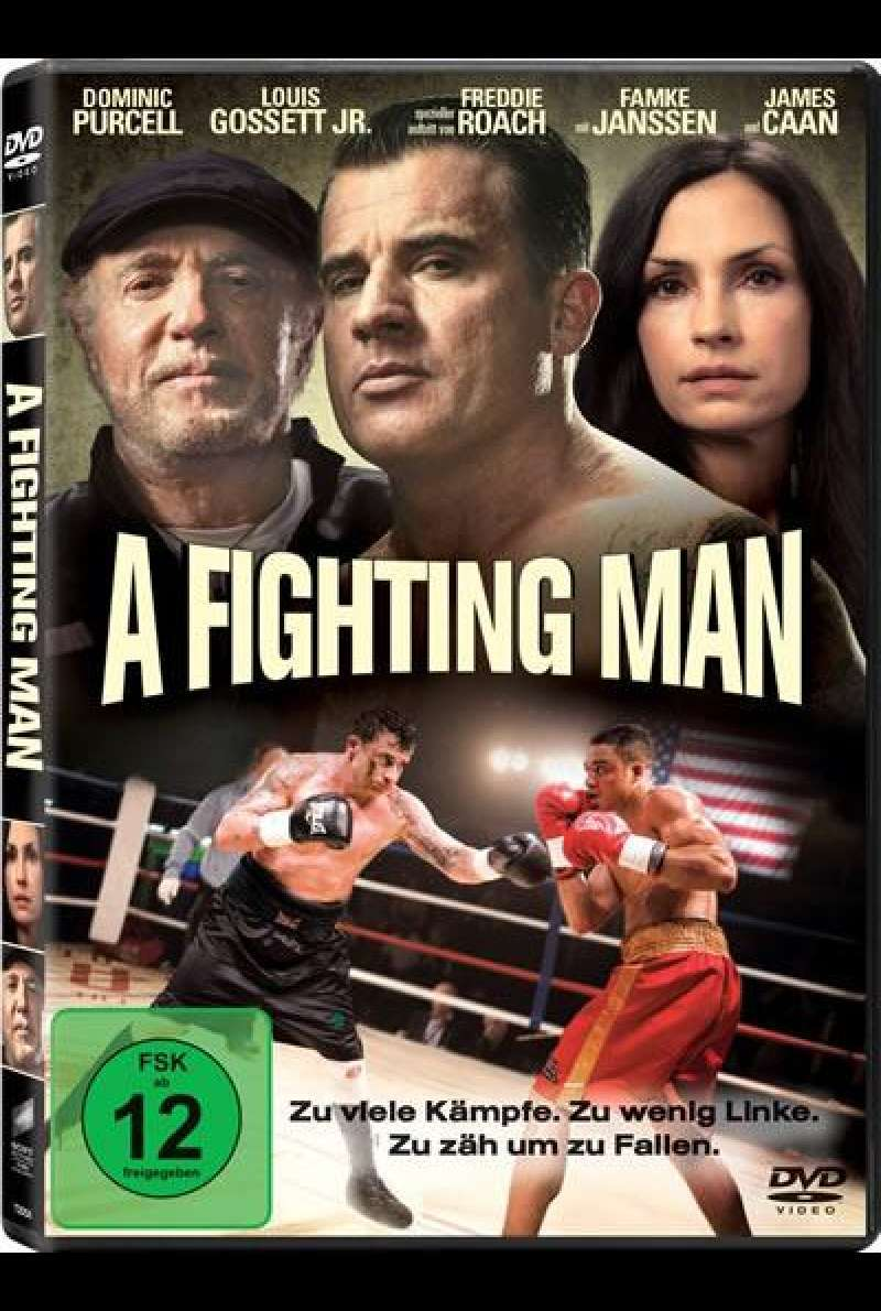A Fighting Man von Damian Lee - DVD-Cover