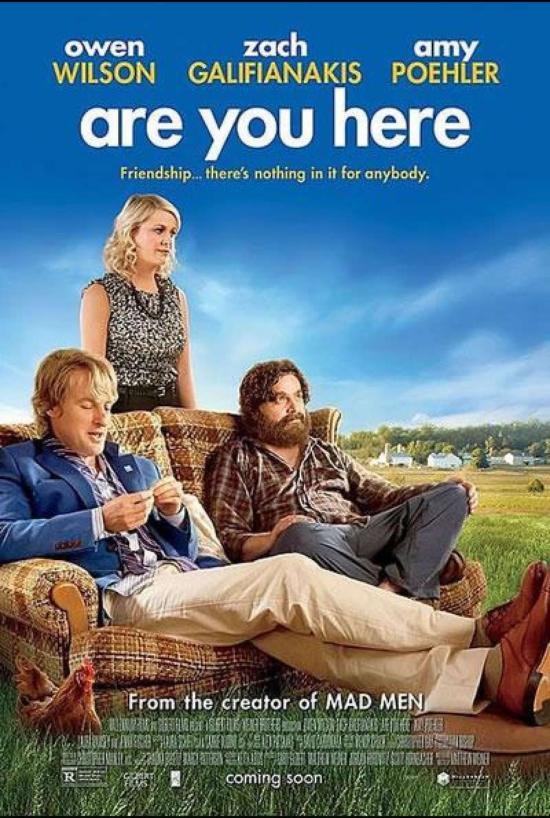 Are You Here - Filmplakat (US)