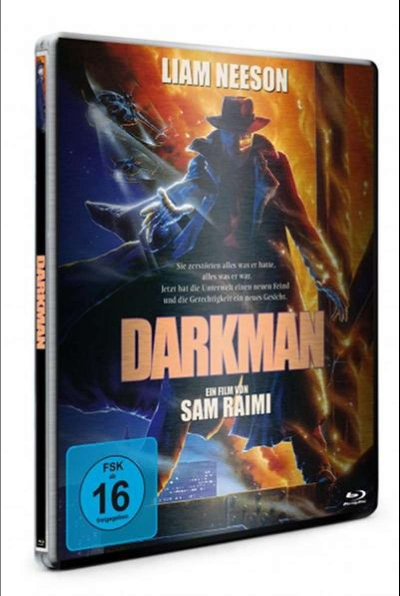 Darkman - Blu-ray Steelbook Cover