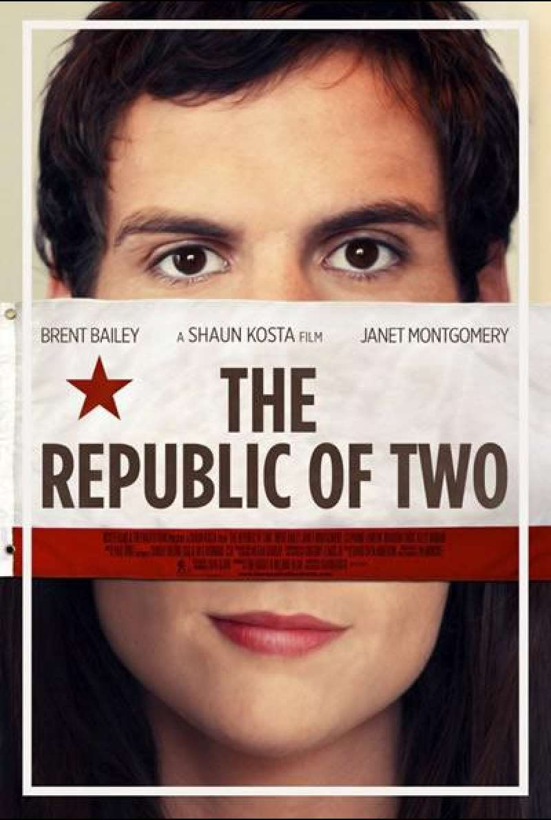 The Republic Of Two von Shaun Kosta - Filmplakat (US)