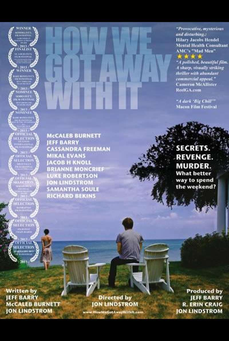 How We Got Away With It von Jon Lindstrom - Filmplakat (US)