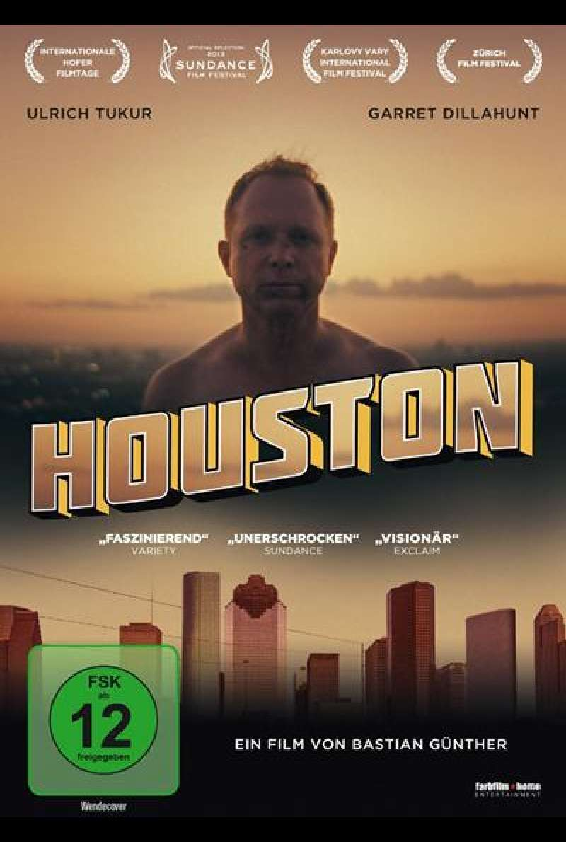 Houston - DVD-Cover