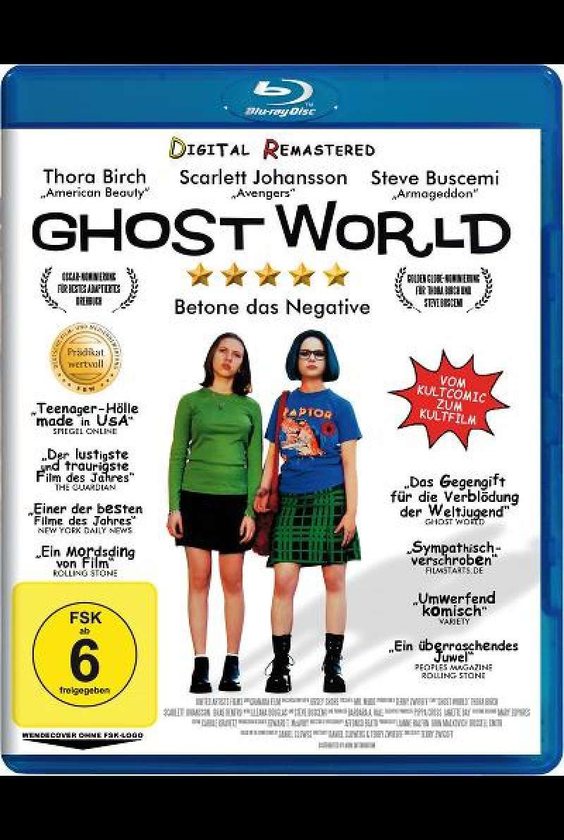 Ghost World - Blu-ray Cover