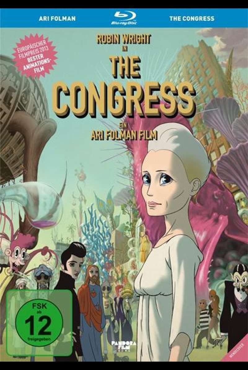 The Congress - Blu-ray Cover