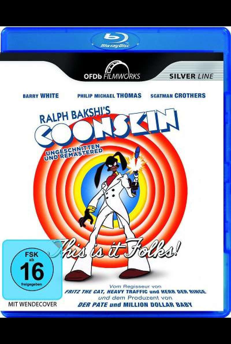 Coonskin - Blu-ray Cover