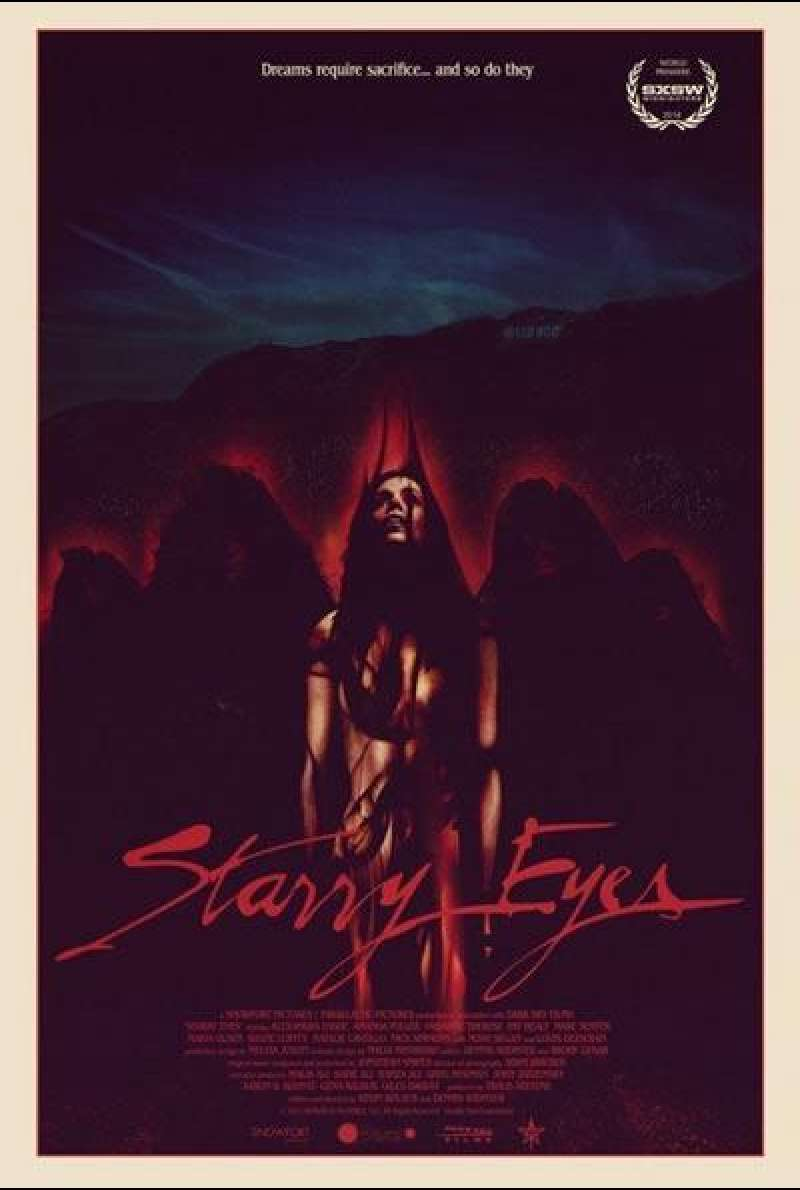 Starry Eyes von Dennis Widmyer - Filmplakat (US)