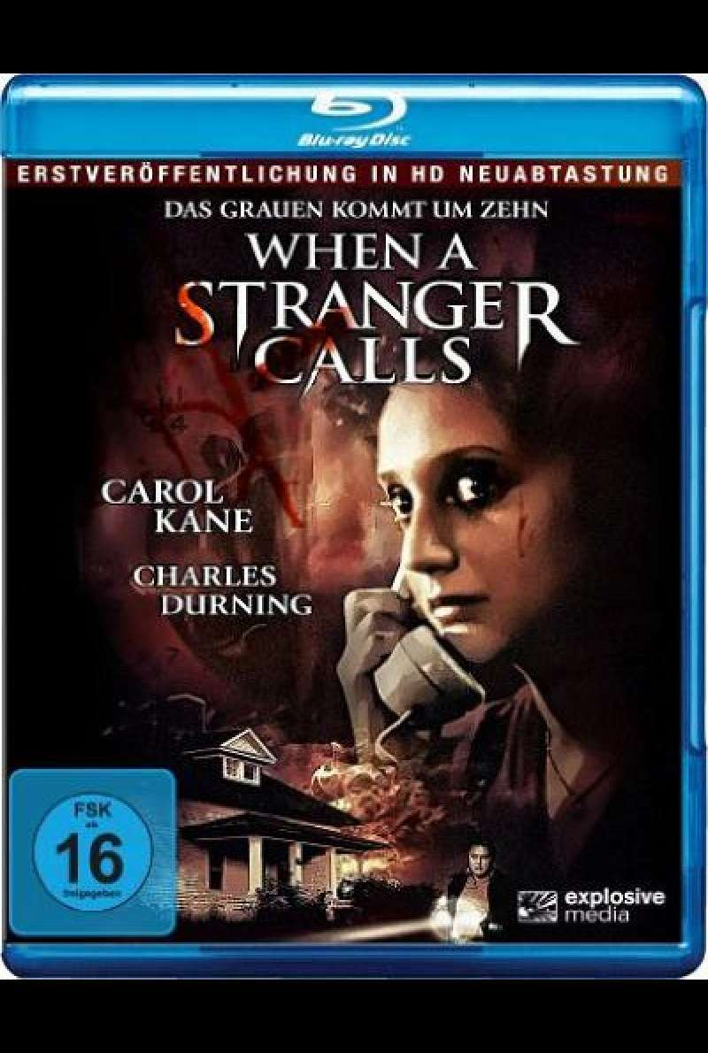 When a Stranger Calls - Blu-ray Cover