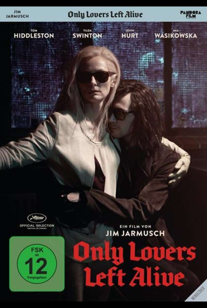 Only Lovers Left Alive - DVD-Cover