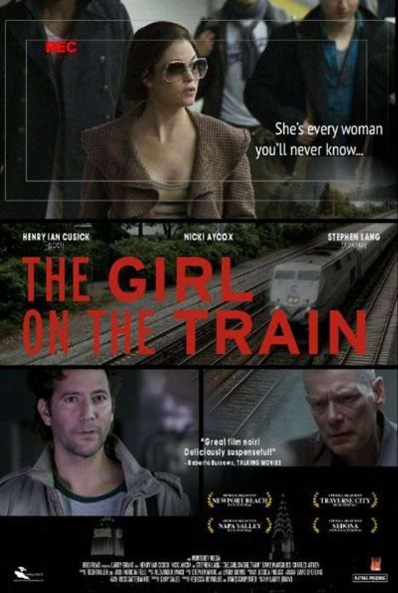 The Girl on the Train - Filmplakat (US)