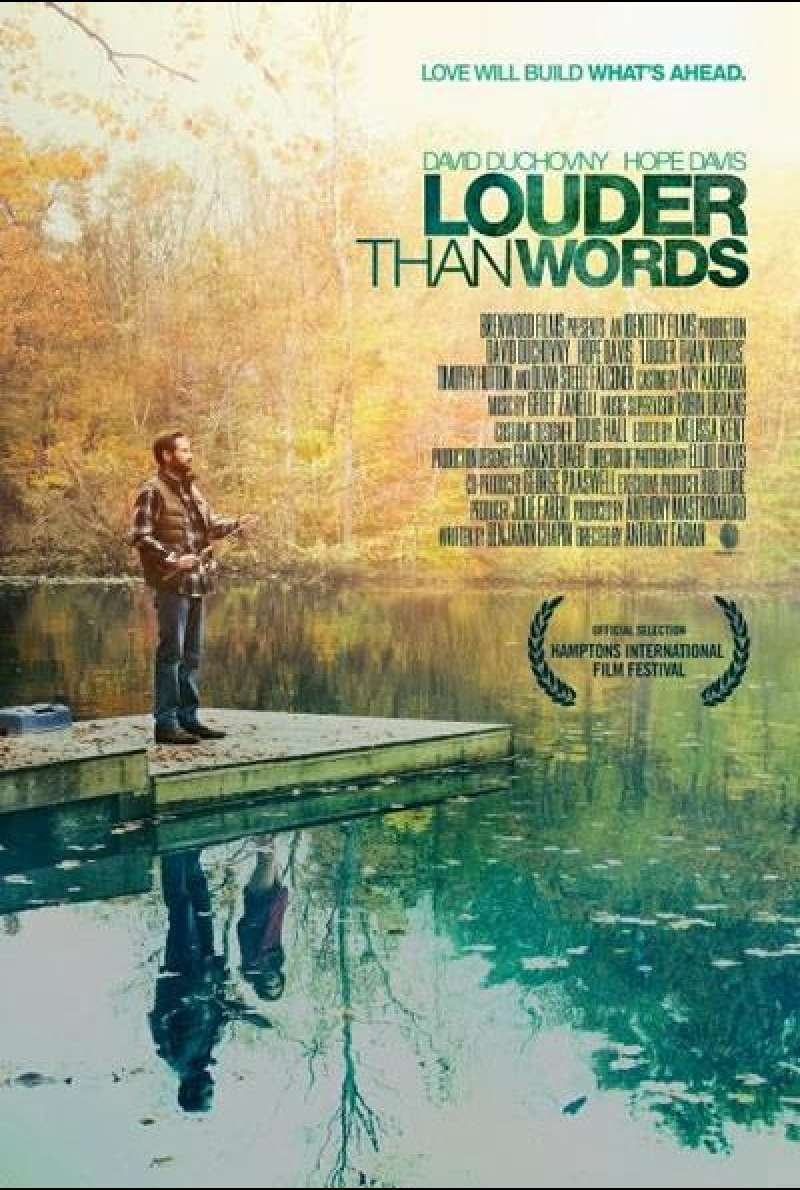 Louder Than Words von Anthony Fabian - Filmplakat (US)