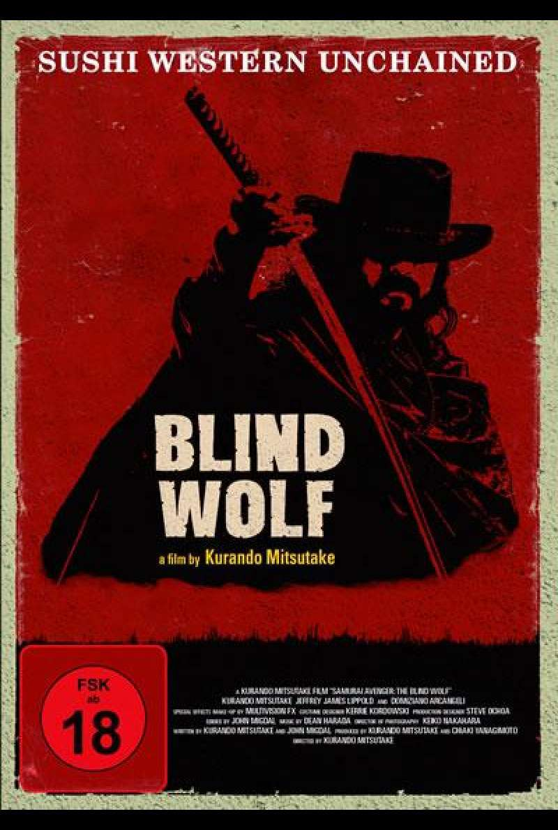 Blind Wolf - DVD-Cover