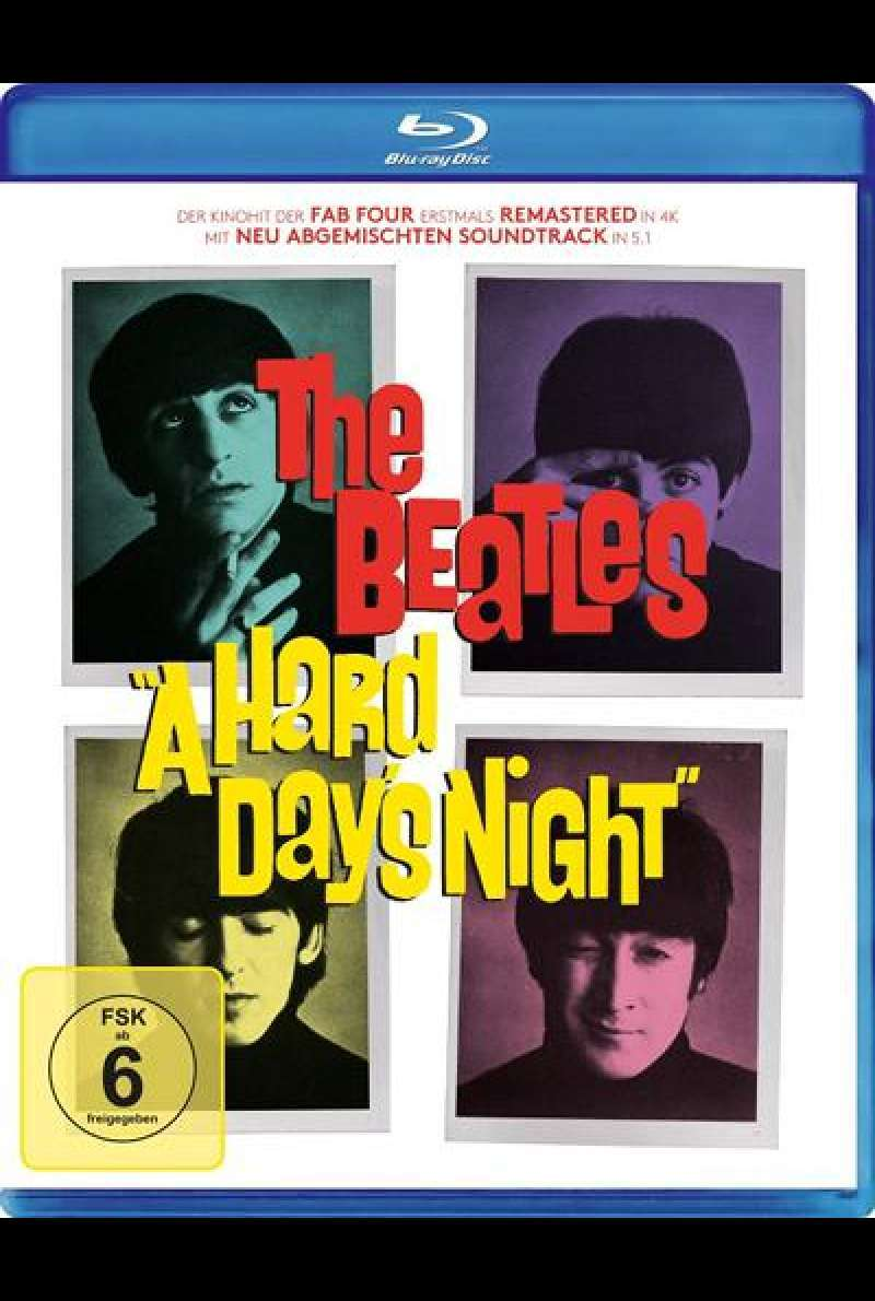 A Hard Day's Night - Blu-ray Cover