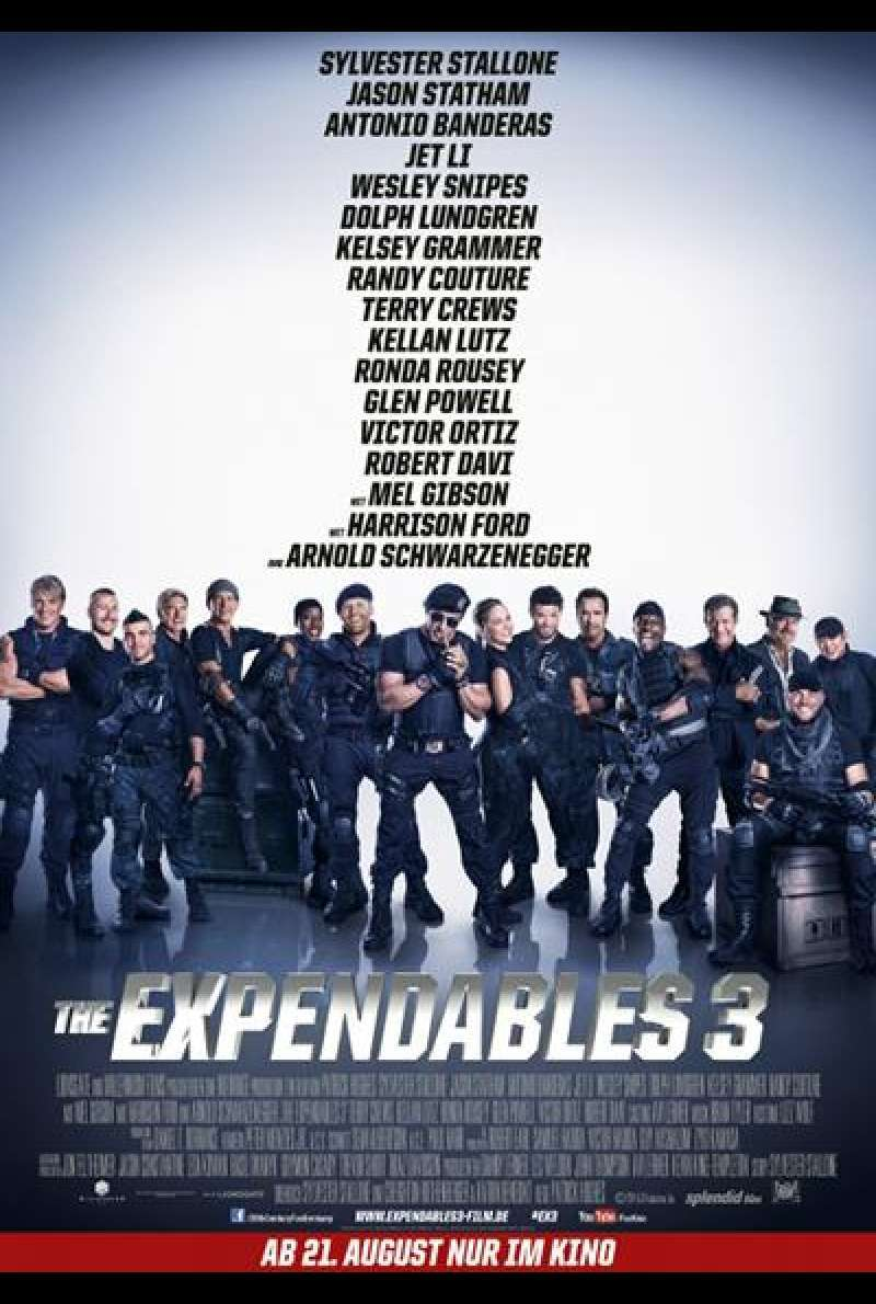 The Expendables 3 - Filmplakat