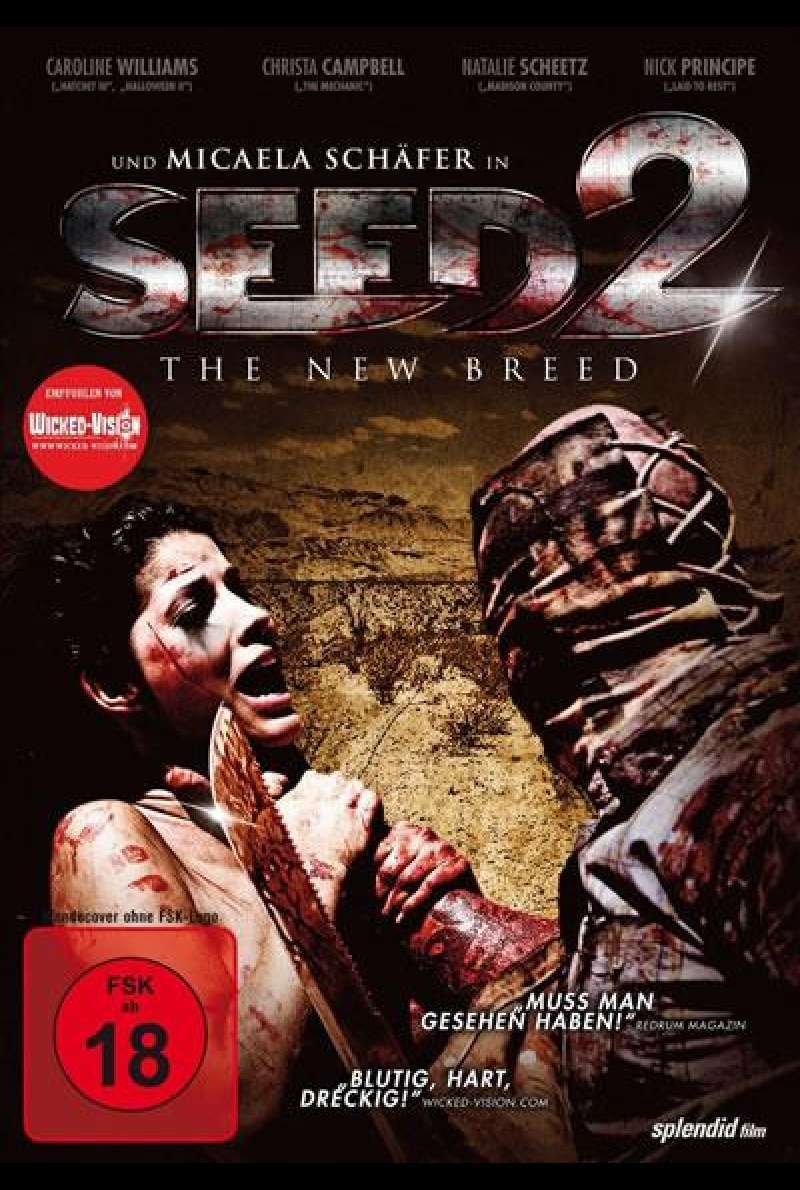 Seed 2 - The New Breed - DVD-Cover