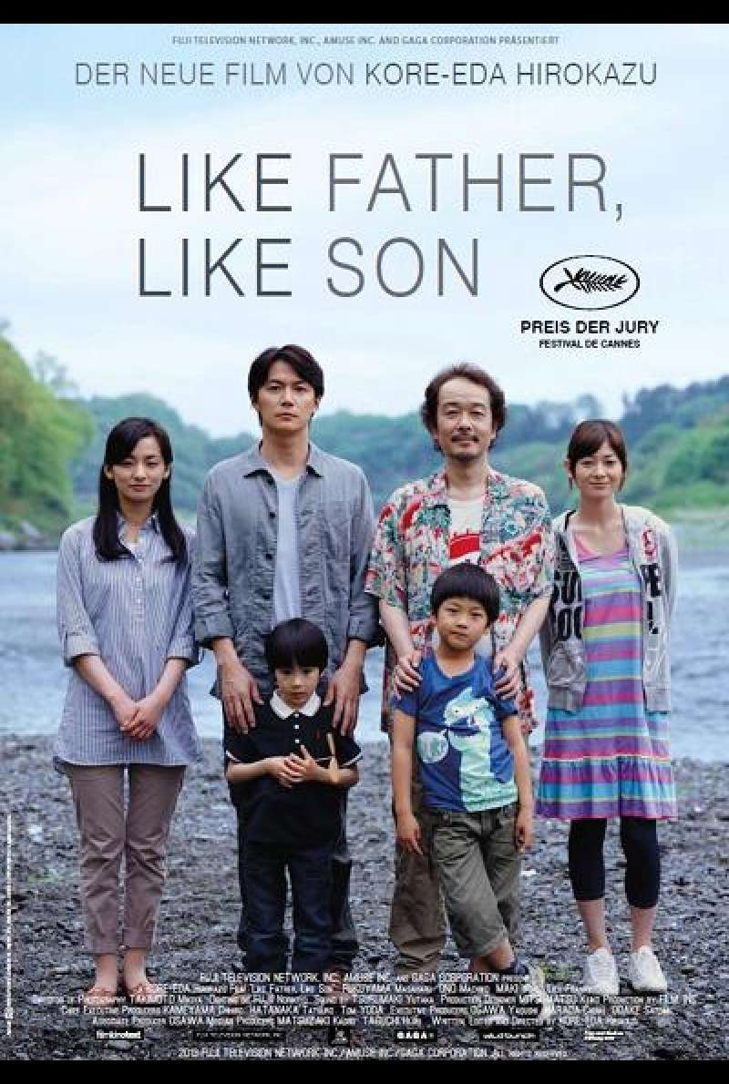 Like Father, Like Son - Filmplakat