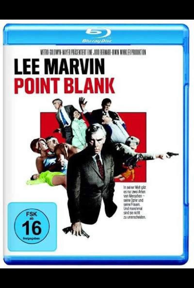 Point Blank von John Boorman - Blu-ray Cover
