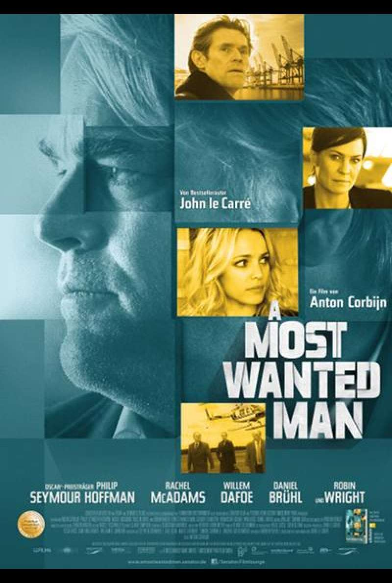 A Most Wanted Man - Filmplakat