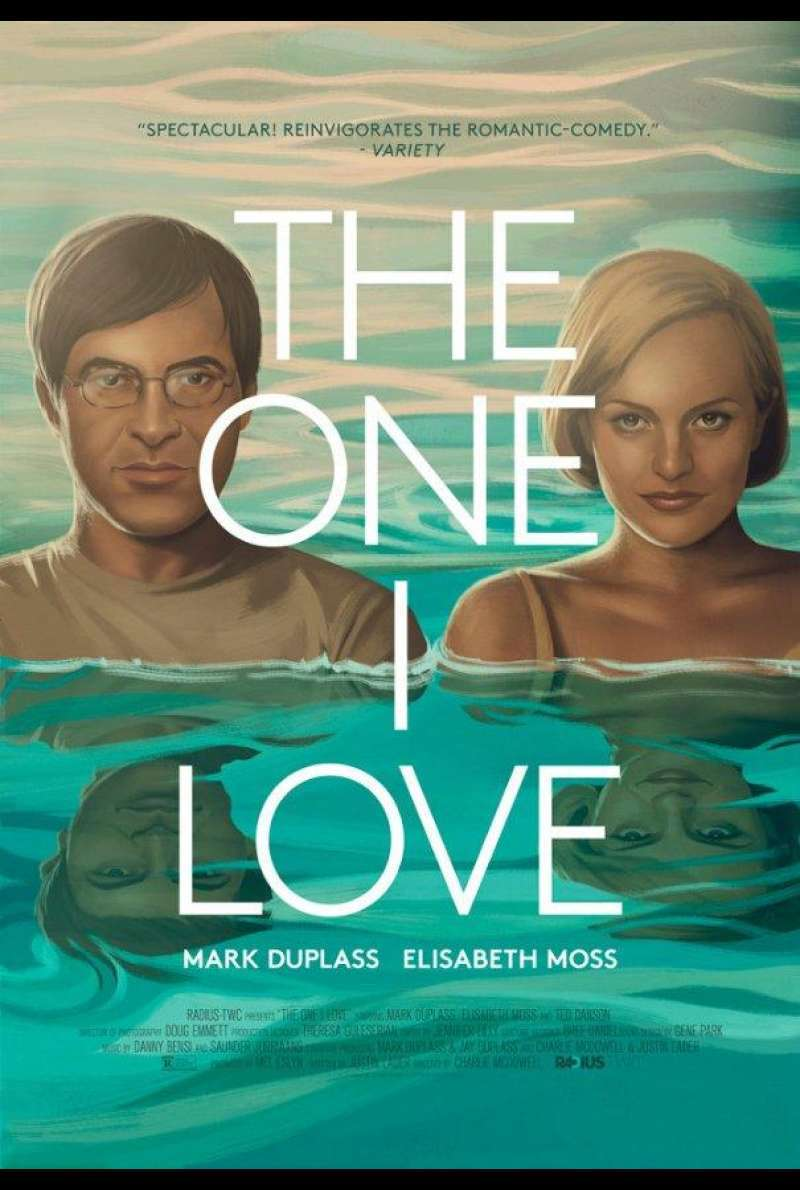 The One I Love von Charlie McDowell – Filmplakat (US)