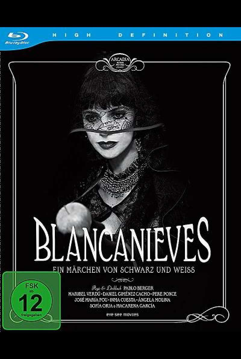 Blancanieves - Blu-ray Cover