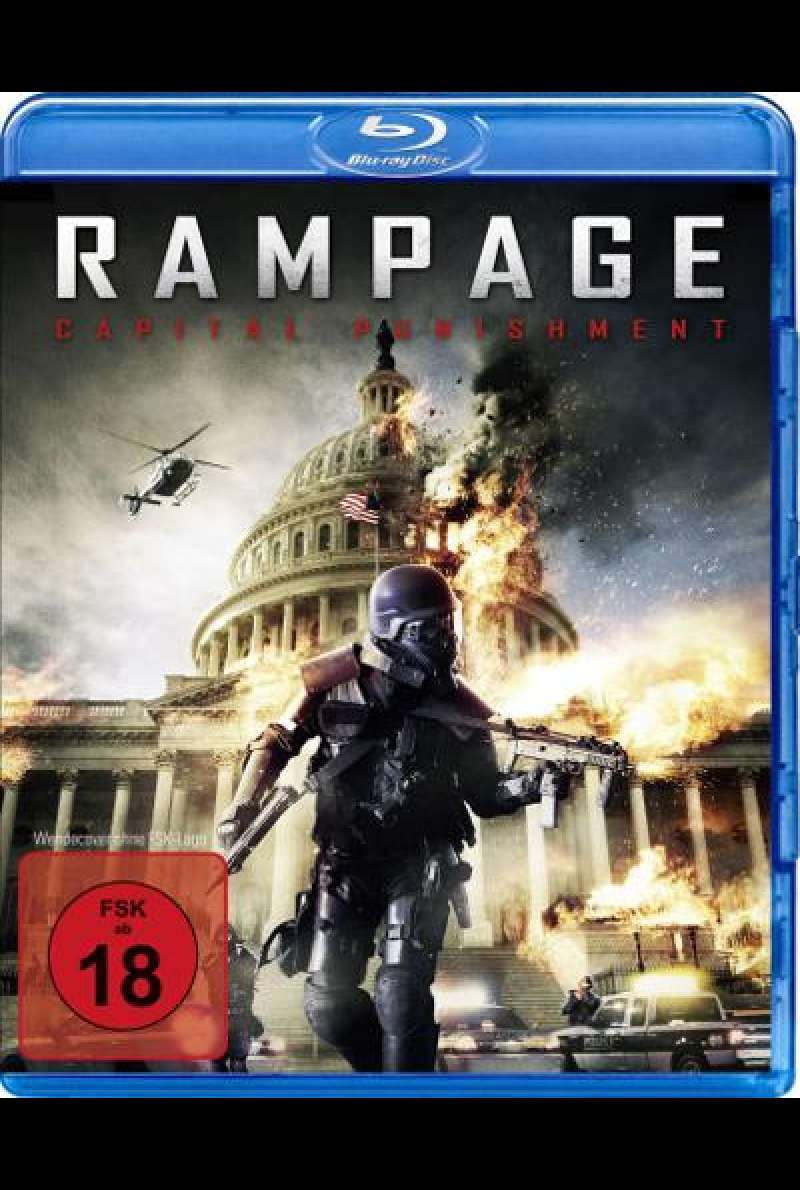 Rampage - Capital Punishment von Uwe Boll - Blu-ray Cover