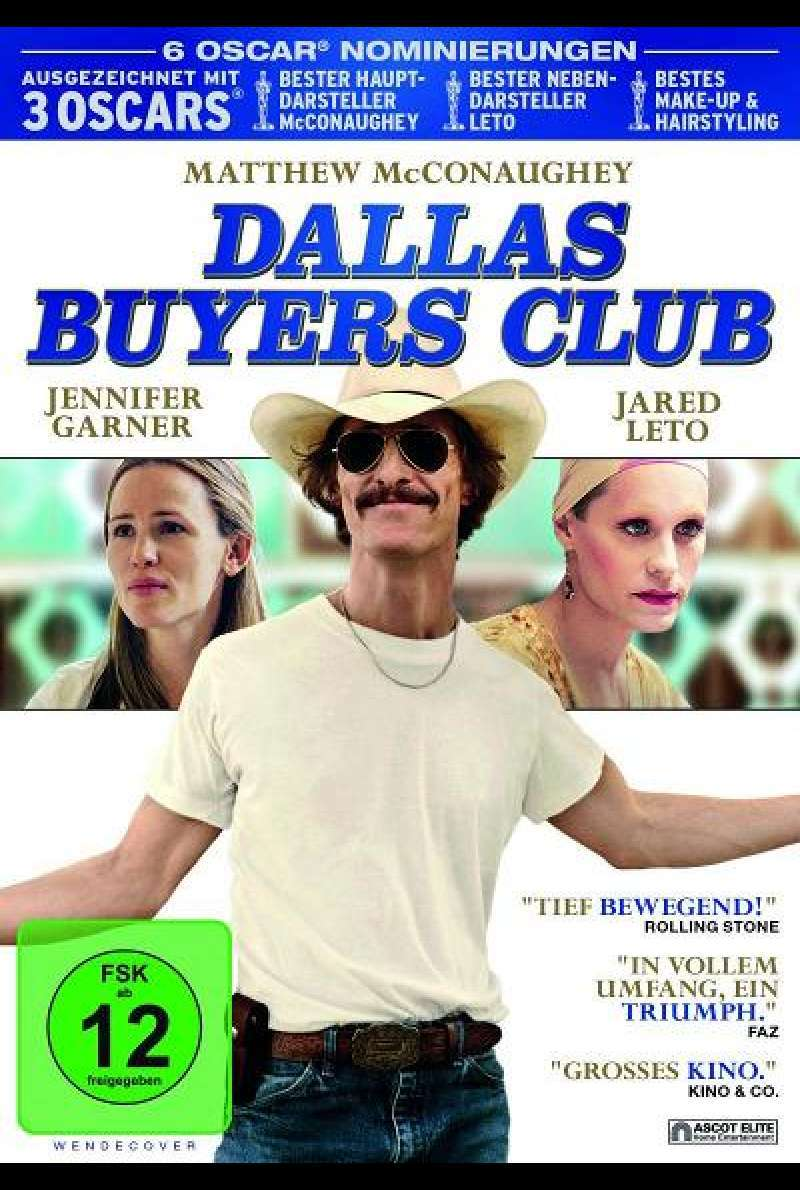 Dallas Buyers Club - DVD-Cover