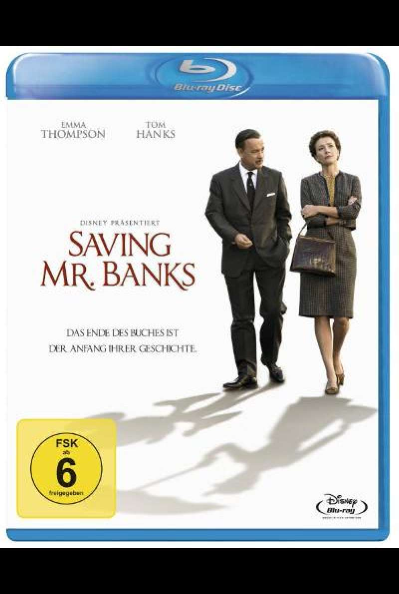 Saving Mr. Banks von John Lee Hancock - Blu-ray Cover