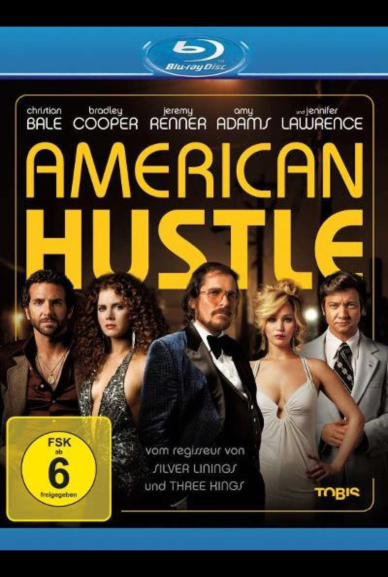 American Hustle von David O. Russell - Blu-ray Cover