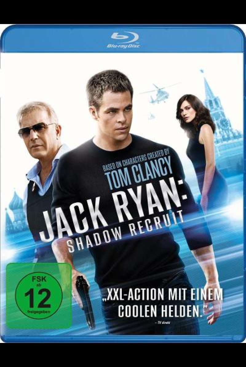 Jack Ryan: Shadow Recruit von Kenneth Branagh - Blu-ray Cover