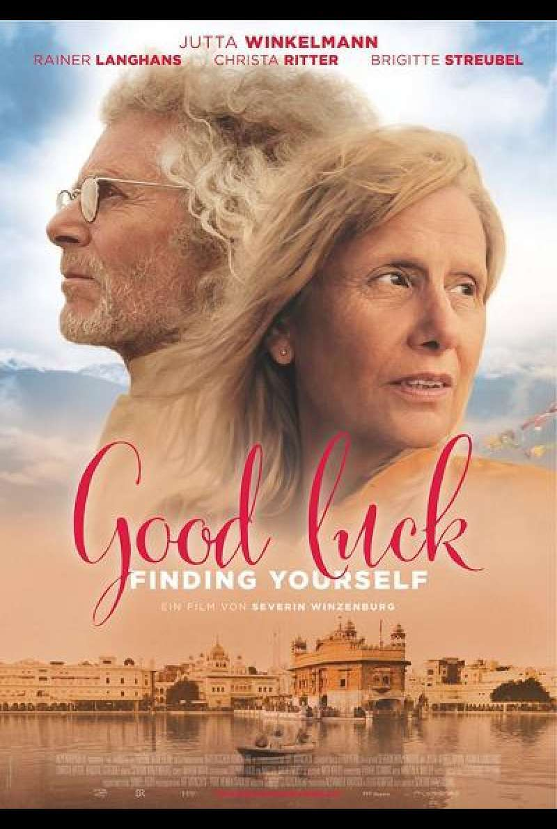 Good Luck Finding Yourself - Filmplakat