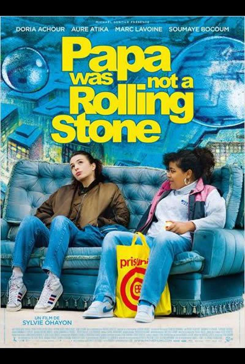 Papa Was Not a Rolling Stone - Filmplakat (FR)