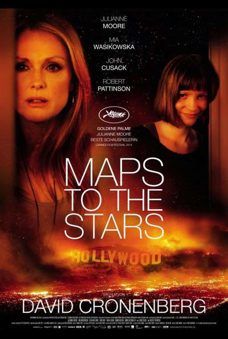 Maps to the Stars - Filmplakat