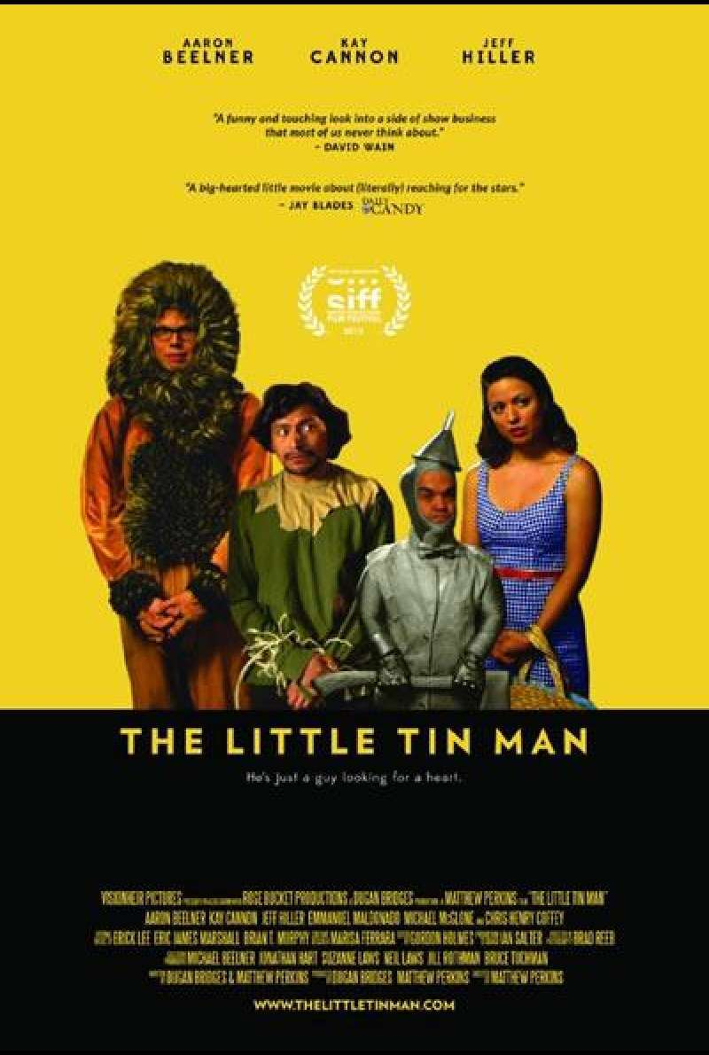 Little Tin Man von Matthew Perkins – Filmplakat (US)