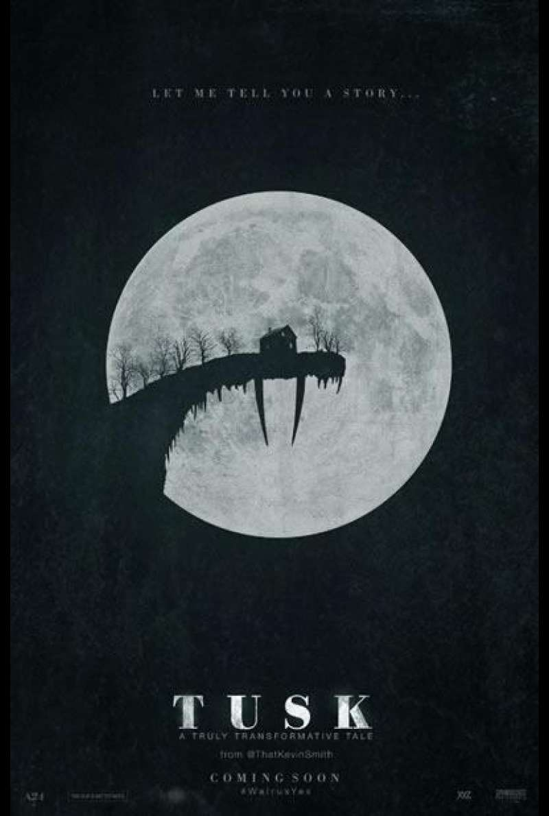 Tusk von Kevin Smith  – Filmplakat (US)