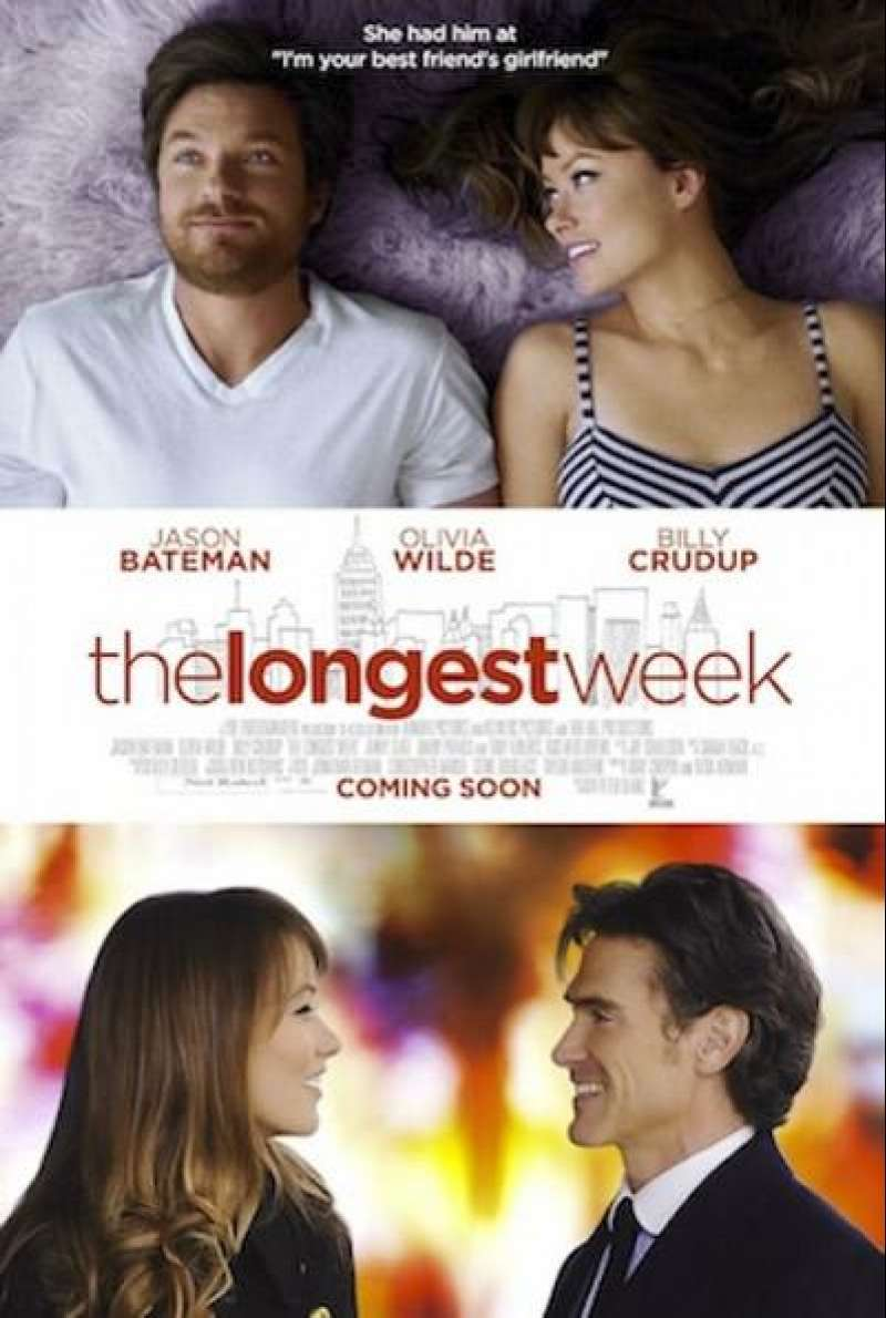 The Longest Week - Filmplakat (US)