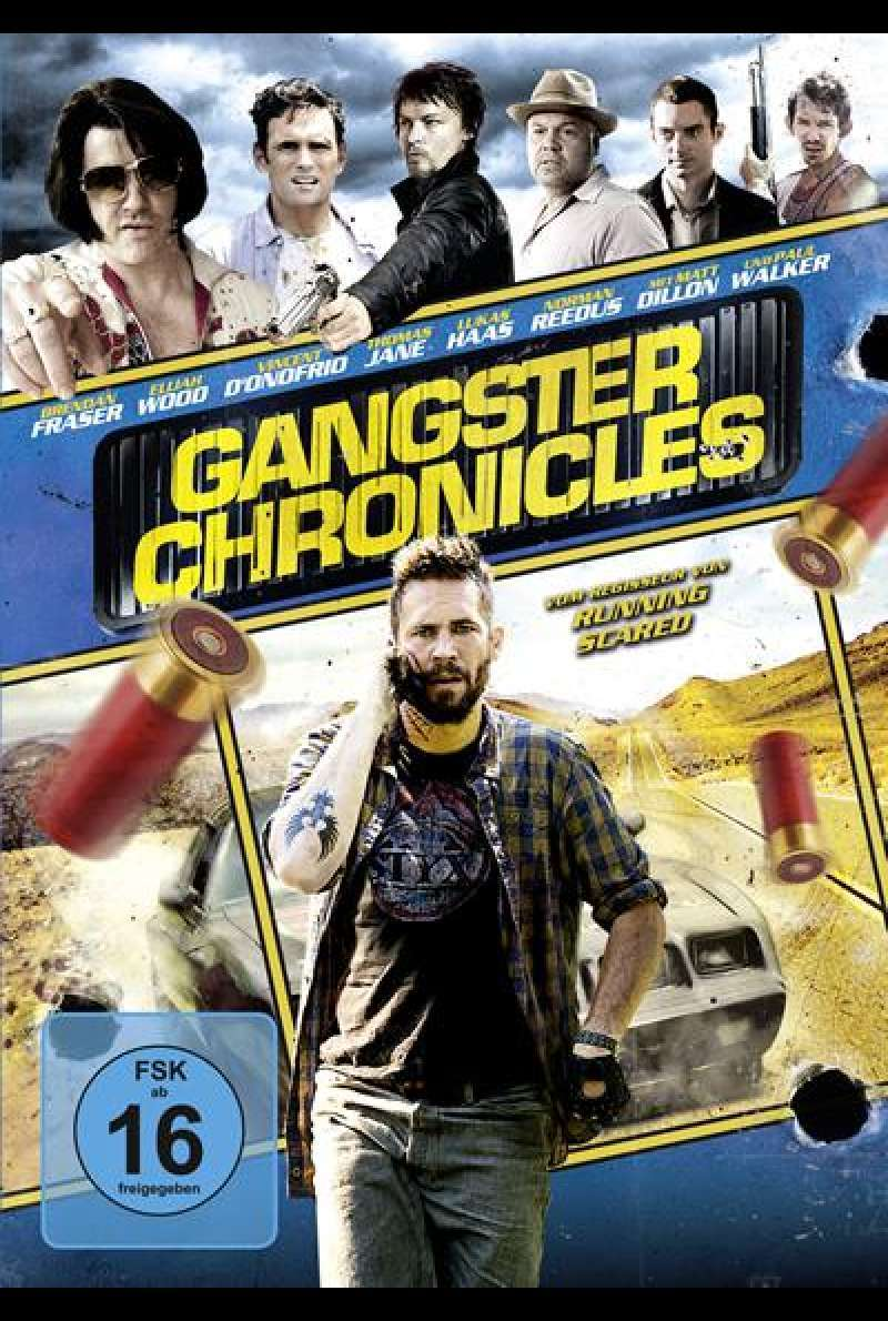 Gangster Chronicles von Wayne Kramer – DVD Cover (DE)