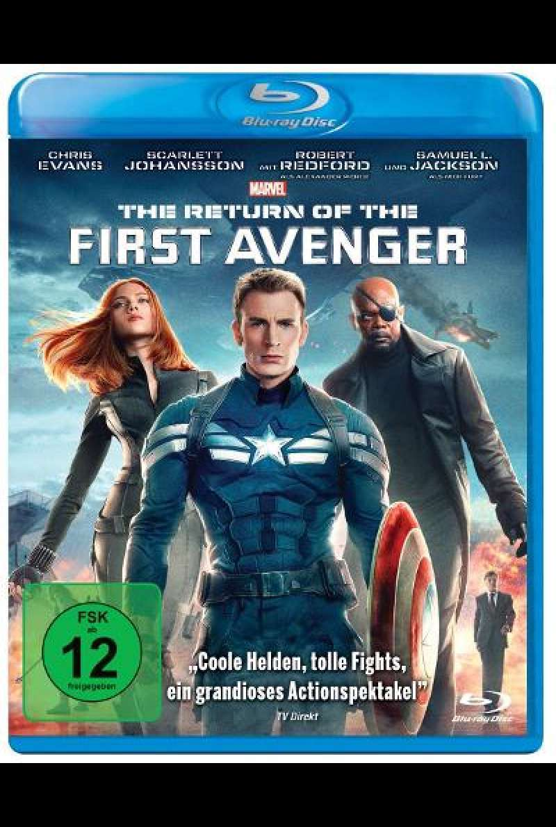 The Return of the First Avenger Anthony und Joe Russo - Blu-ray Cover