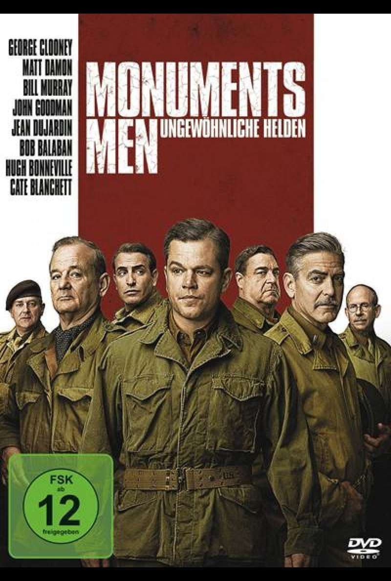 Monuments Men - DVD-Cover