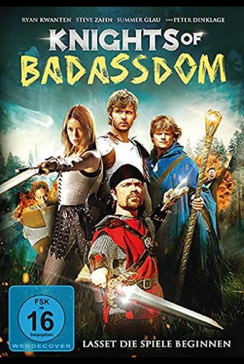 Knights of Badassdom - DVD-Cover