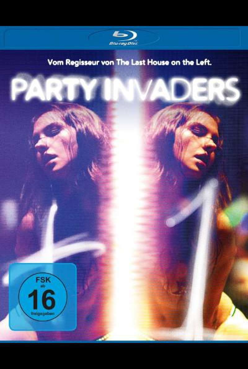 Party Invaders von Dennis Iliadis - Blu-ray Cover