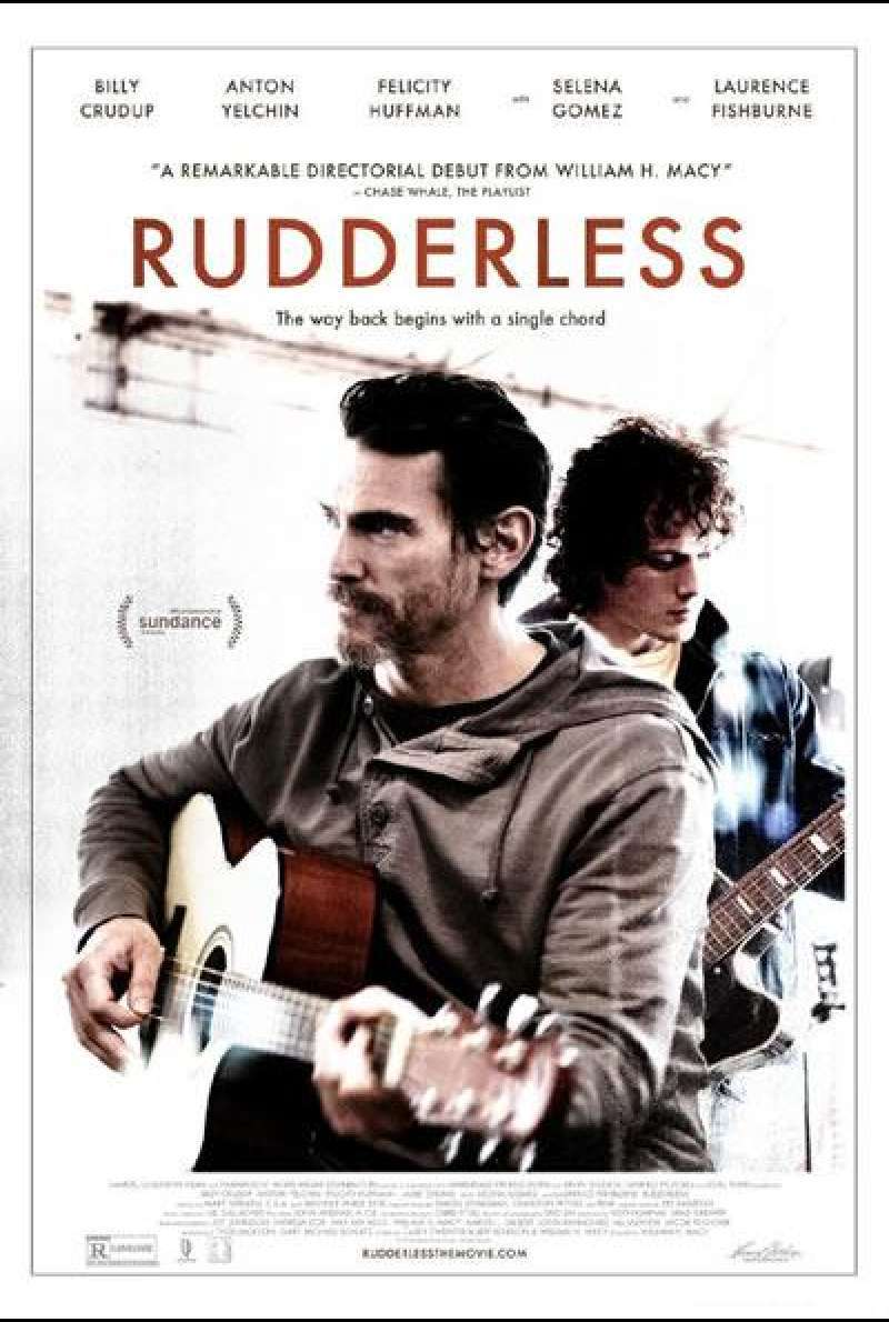 Rudderless von William H. Macy – Filmplakat (US)